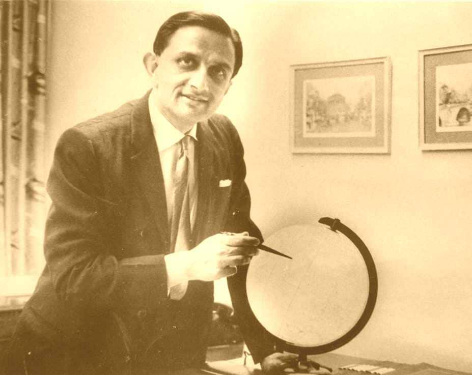 File image of Vikram Sarabhai. Image courtesy: ISRO