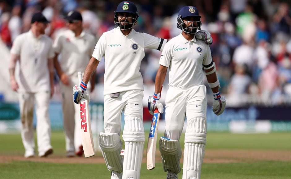 Virat Kohli Ajinkya Rahane revive India with 159-run stand after anxious start on Day 1