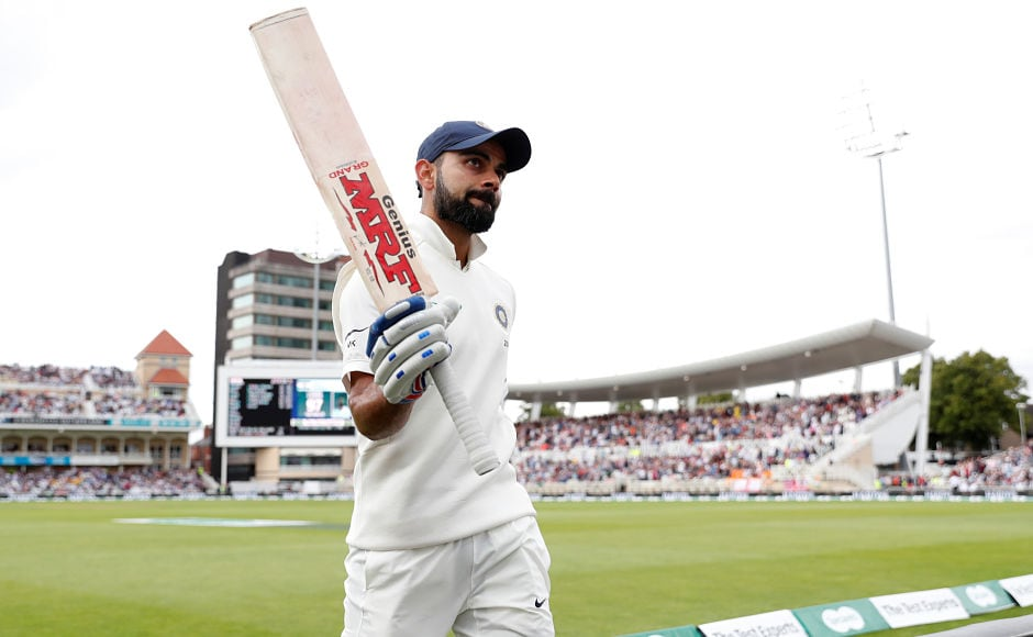 Cricket WATCH: Virat Kohli celebrates his century with a Flying Kiss
