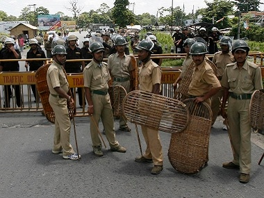 File image of West Bengal Police. Reuters