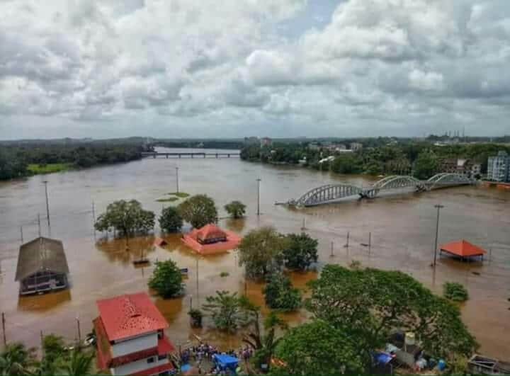 Aluva was one of the worst-hit areas in Kerala. Image/Naveen Nair