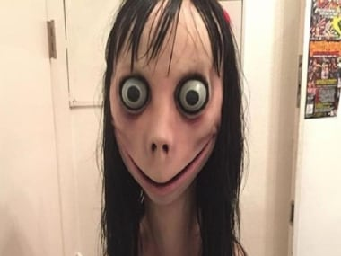 File image of 'Momo' from the online game, Momo Challenge.