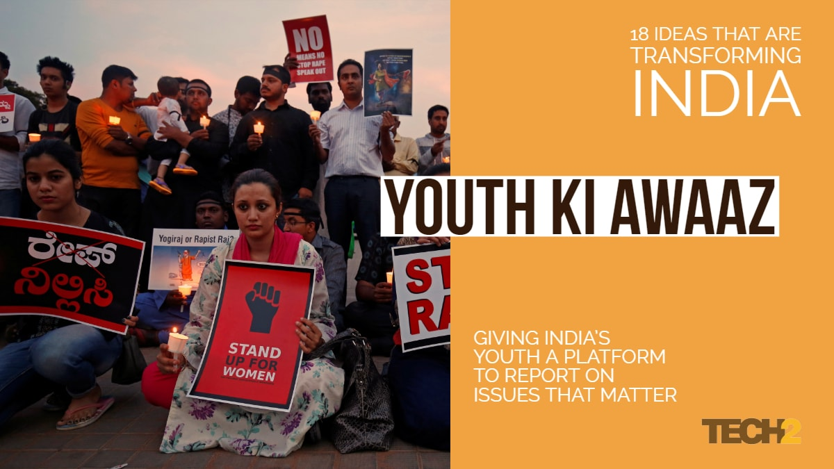 Giving India's youth a platform to report on issues that matter.