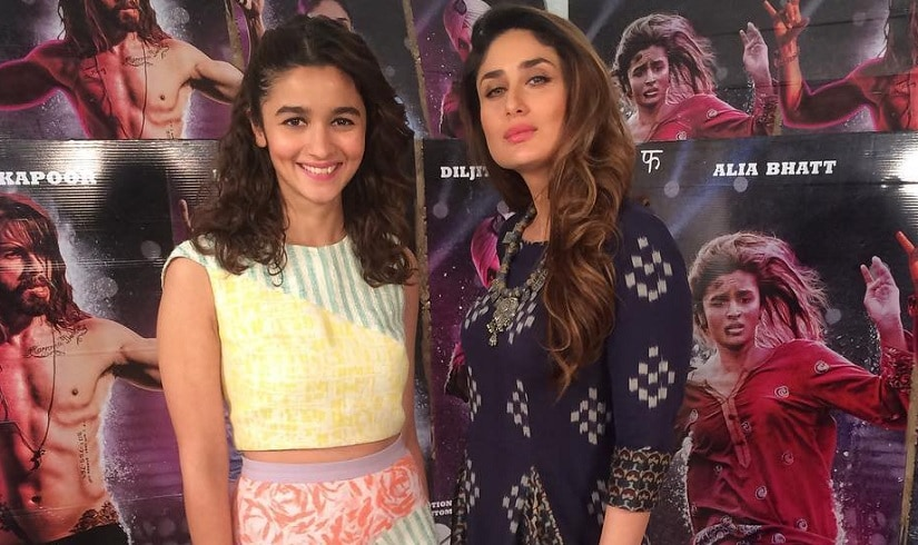 Alia Bhatt and Kareena Kapoor Khan. Twitter