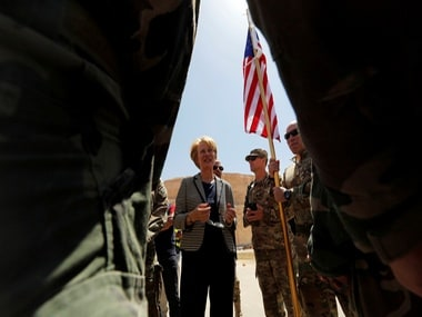 File image of Principal Deputy Assistant Secretary, Alice Wells. Reuters