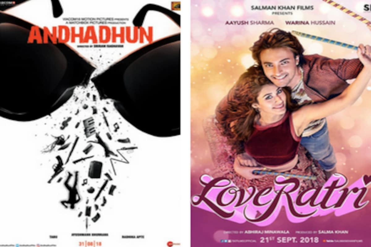 Ayushmann Khurrana S Andhadhun Release Date Pushed To 5 October Film Will Now Clash With Loveratri Entertainment News Firstpost