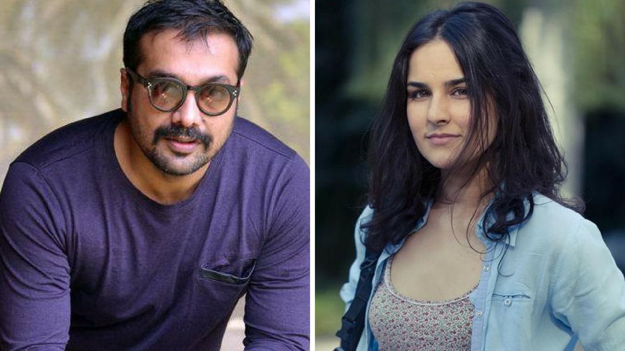 Anurag Kashyap (left); Angira Dhar. Facebook