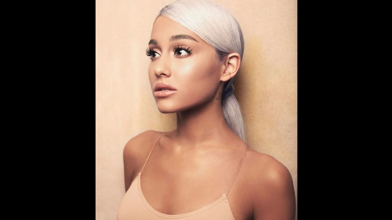 Ariana Grande for her album Sweetener.Facebook/@arianagrande