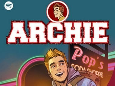 Archie and the Riverdale gang will appear in new motion comics series, to be available on Spotify
