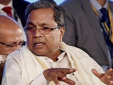 File photo of Siddaramaiah. PTI