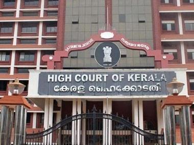 File photo of Kerala high court. PTI