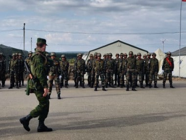 The SCO Peace Mission Exercise 2018 culminated on 29 August. Courtesy: Twitter/@adgpi