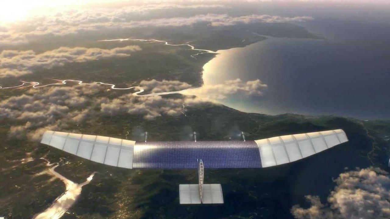 Facebook Project Aquila drone impression. Image: Internet.org