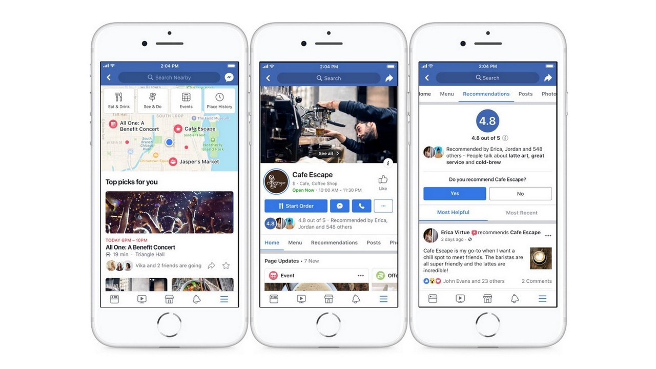 Facebook works towards better business pages, with a focus on local