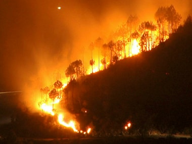 Fire rages across Indonesia's Sumatra, Borneo islands; residents suffer from respiratory problems, sore eyes due to smell of burning foliage