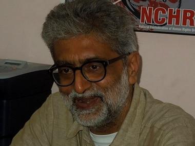 File photo of rights activist Gautam Navlakha. Wikimedia Commons