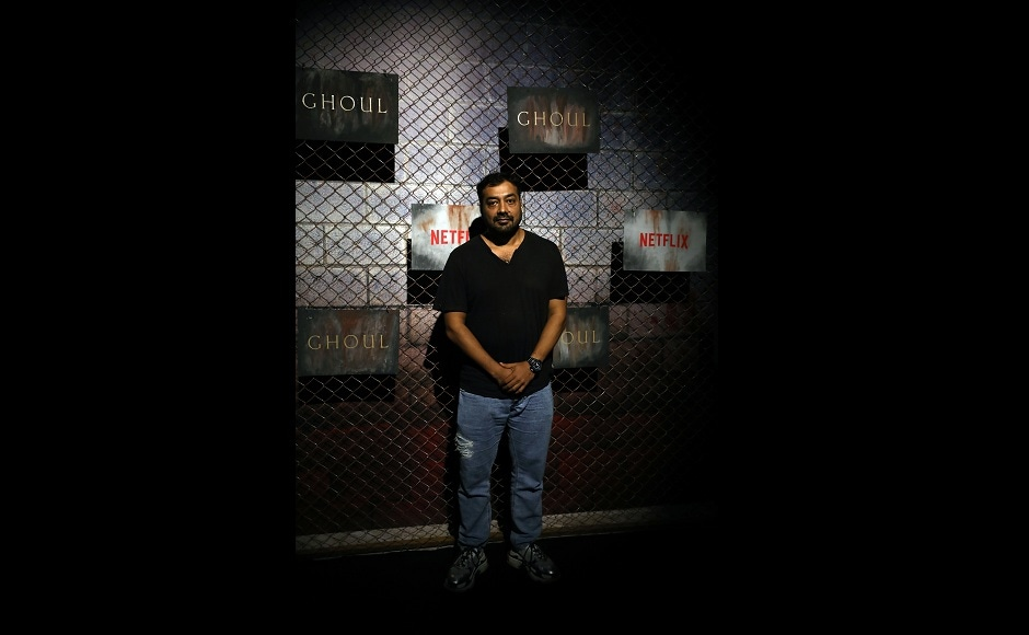 Anurag Kashyap at the Ghoul premiere