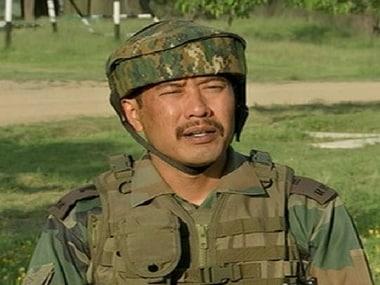 File image of Major Letul Gogoi. News18