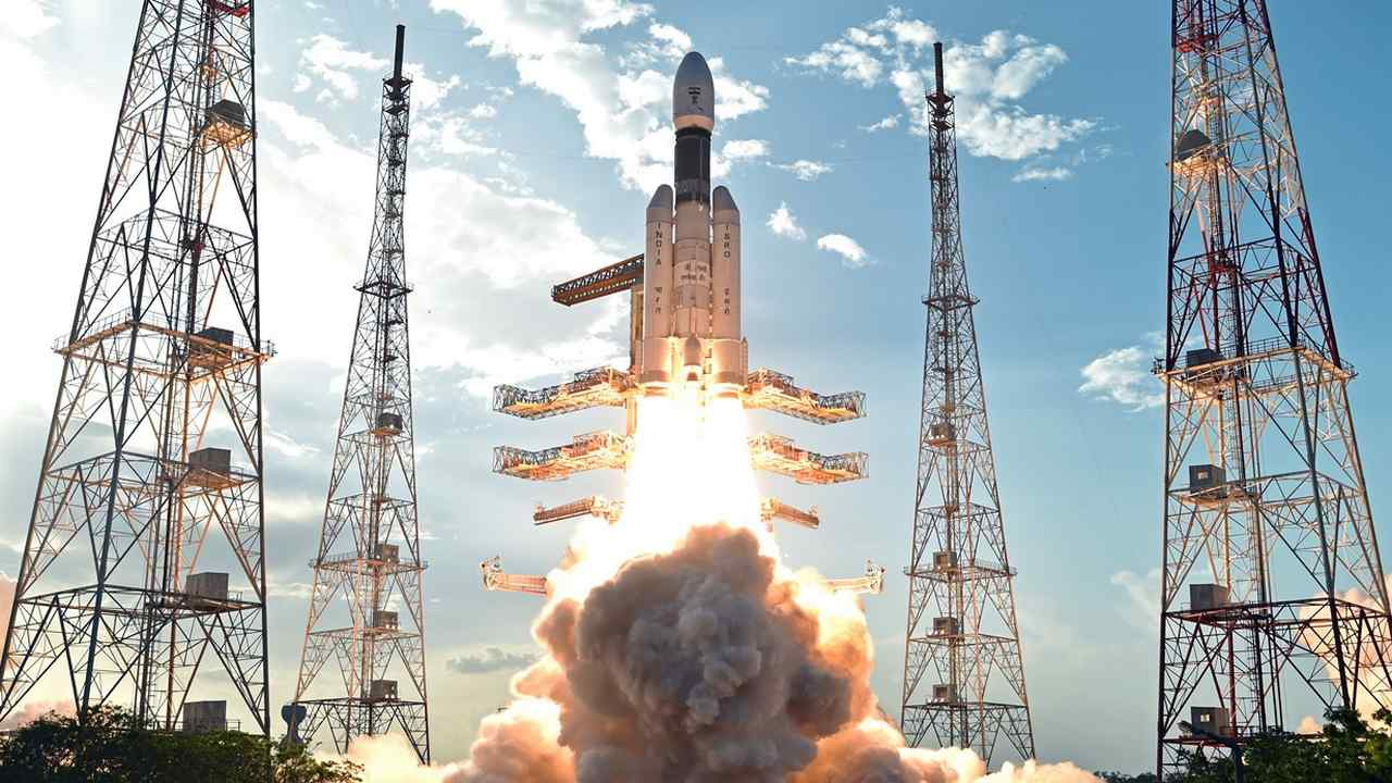 Geosynchronous Satellite Launch Vehicle Mark III (GSLV-Mk III). Image: ISRO