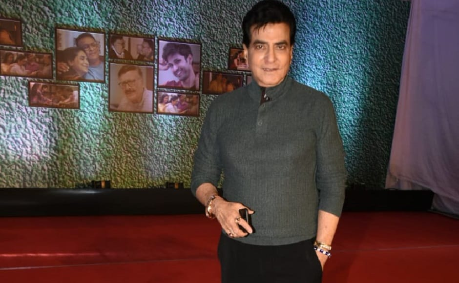 Jeetendra was spotted at the special screening of AltBalaji's Home
