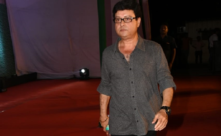 Sachin Pilgaonkar, whose wife Supriya will be essaying the lead role in Home, was spotted at the event