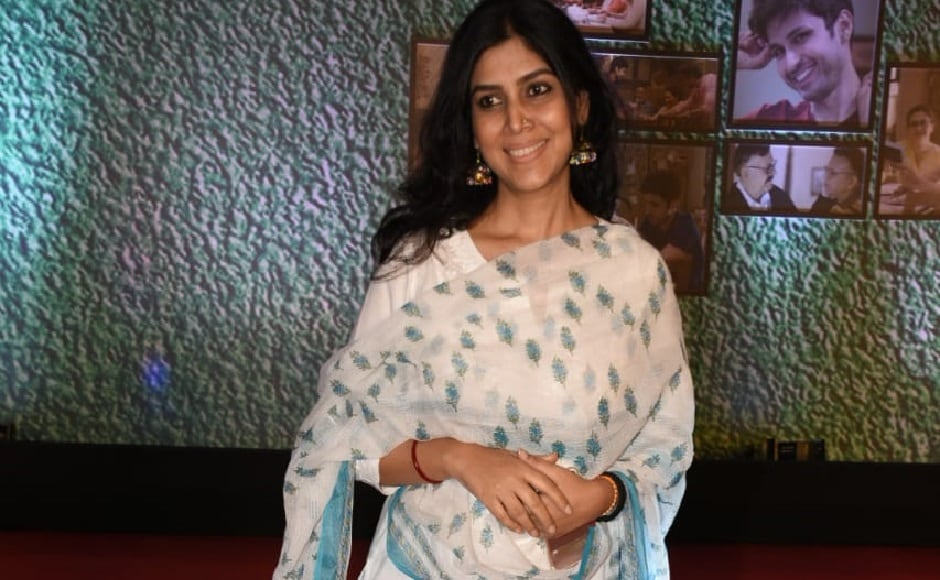 Sakshi Tanwar, who played the lead in Blaji Telefilm's Kahaani Ghar Ghar Ki and Bade Achche Lagte Hain also was seen at the event