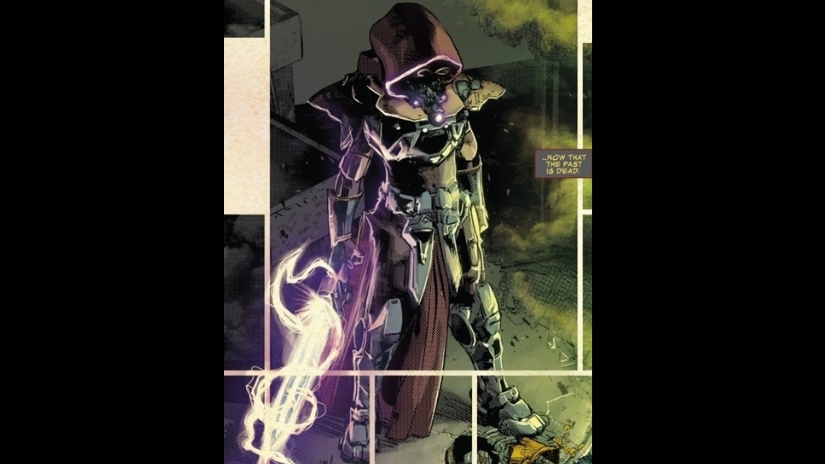 Requiem wastes no time establishing their credentials as a major contender for the Infinity Gems. Source: Marvel Comics