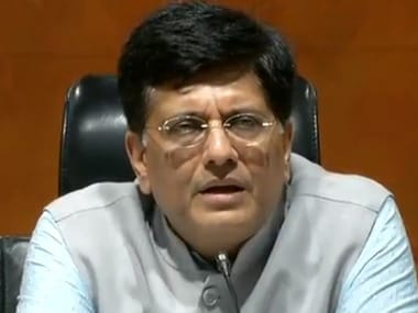 Union minister for Railways, Piyush Goyal. Twitter/@BJP4India