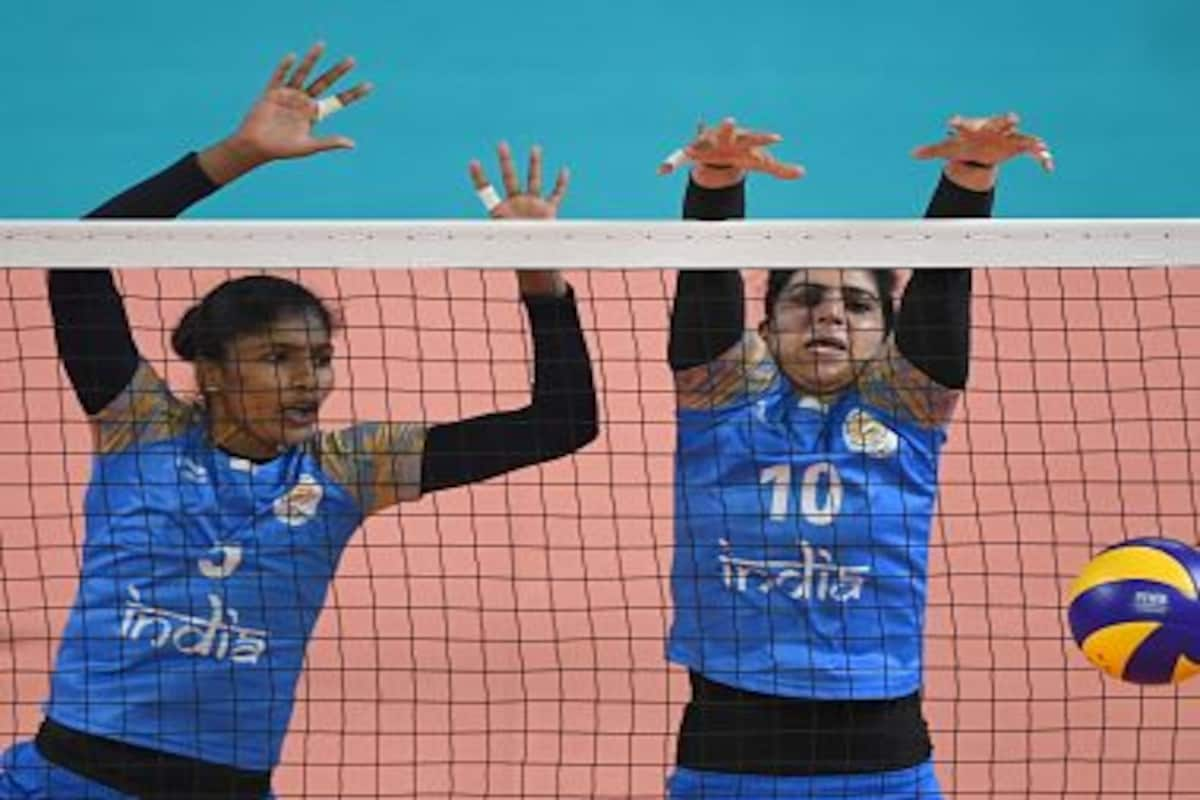 Asian Games 2018 Indian Women S Volleyball Team Campaign Ends After 0 3 Loss Against China Sports News Firstpost
