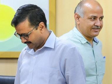 File image of Delhi chief minister Arvind Kejriwal and his deputy Manish Sisodia. PTI