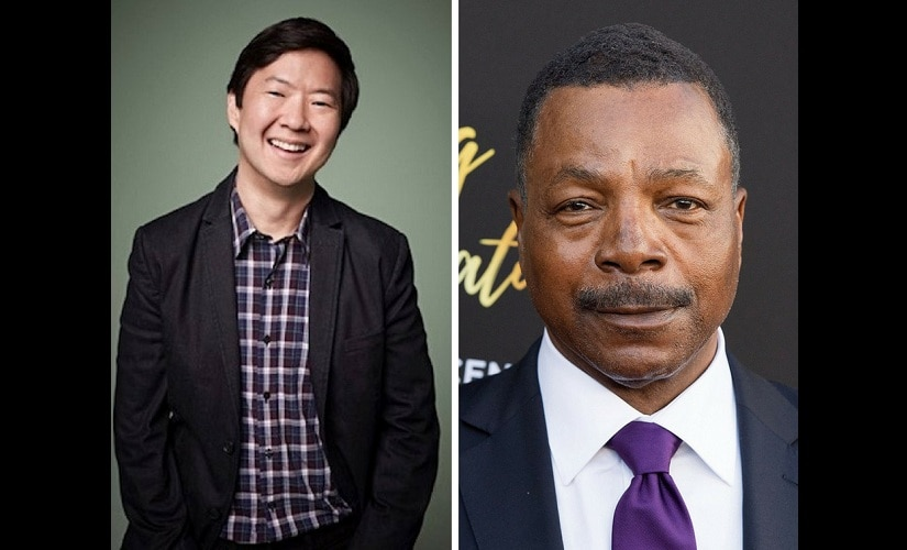 Ken Jeong and Carl Weathers. Twitter @SpoilerTV