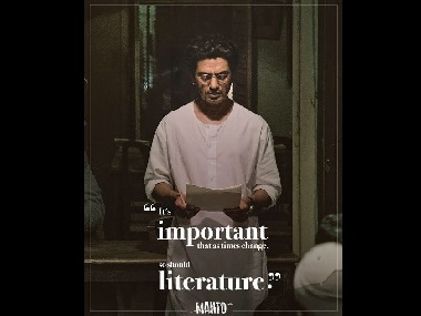 Nawazuddin Siddiqui shares his Saadat Hasan Manto look from the upcoming biopic