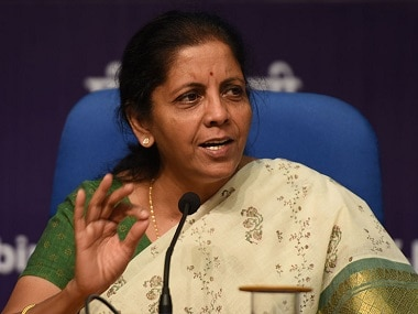 File image of Union minister Nirmala Sitharaman. Getty images