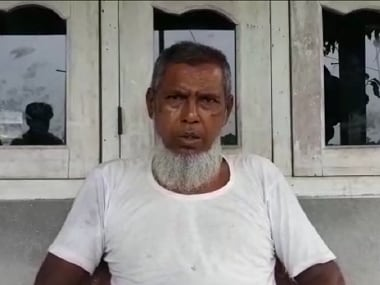 Faiqul Hoque, a 58-year-old beedi roller who was left out of the Assam NRC. Image Courtest: 101Reporters/Syeda Ambia Zahan)