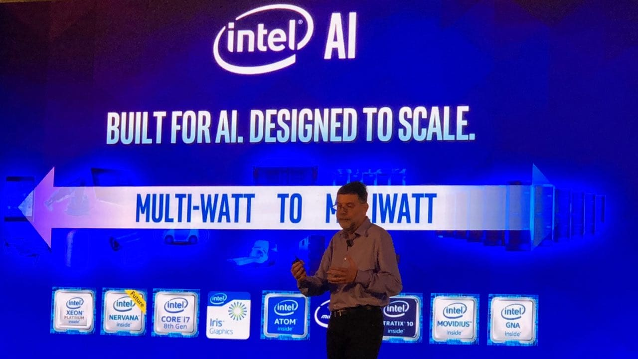Intel processor portfolio from multi-Watt Xeon line to milli-Watt Movidius chipset. Image: tech2