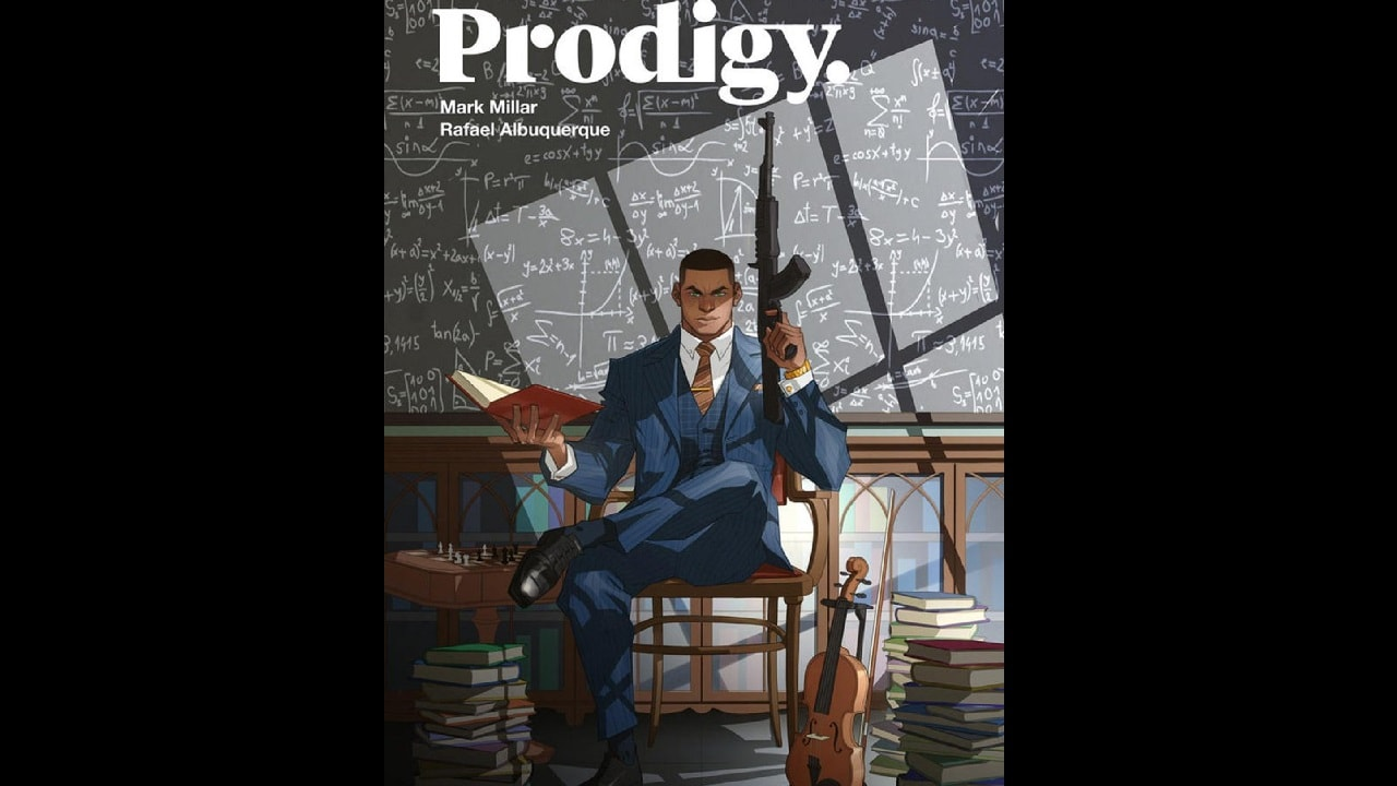Mark Millar shared a variant cover for his upcoming project, Prodigy. Twitter/@mrmarkmillar