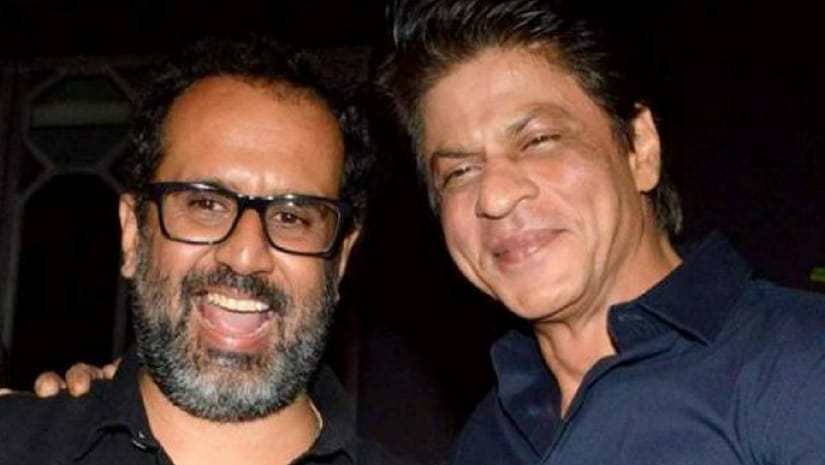 Aanand L Rai (left) with Shah Rukh Khan. Image from Facebook