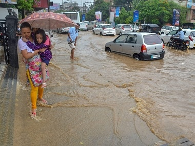 Heavy rainfall warning issued in parts of Gujarat; state Met department says depression in Arabian Sea may turn into cyclonic storm