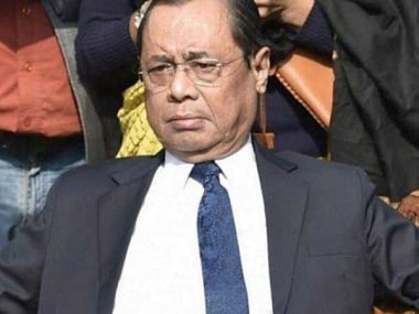 File photo of Justice Ranjan Gogoi. PTI