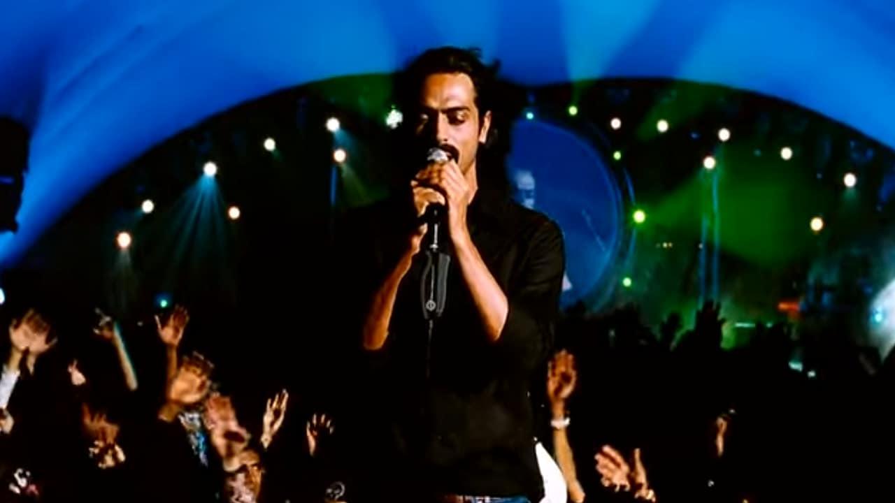Arjun Rampal in a still from Rock On!!