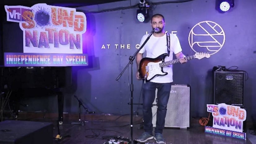 Sidd Coutto performs for VH1 Soundnation. Image via Facebook/@Vh1 India