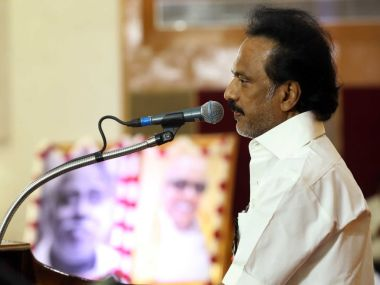 MK Stalin is set to become the party president unopposed as he is the only person who has filed the nomination for the post. Twitter/@mkstalin