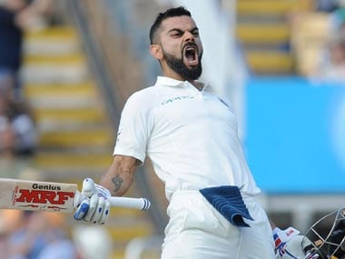 Indian captain Virat Kohli surpasses Steve Smith to become No 1 Test batsman according to ICC rankings