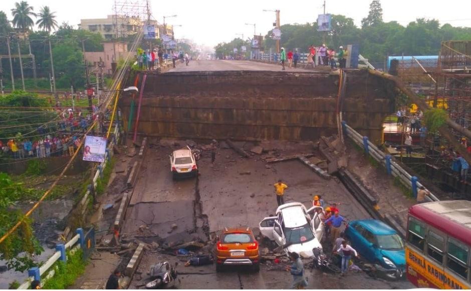 Kolkata bridge collapse: One dead, several injured in Majerhat mishap; Mamata Banerjee orders high-level investigation