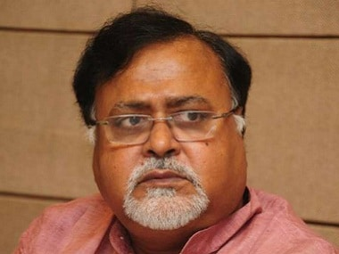 File photo of West Bengal education minister Partha Chatterjee. PTI