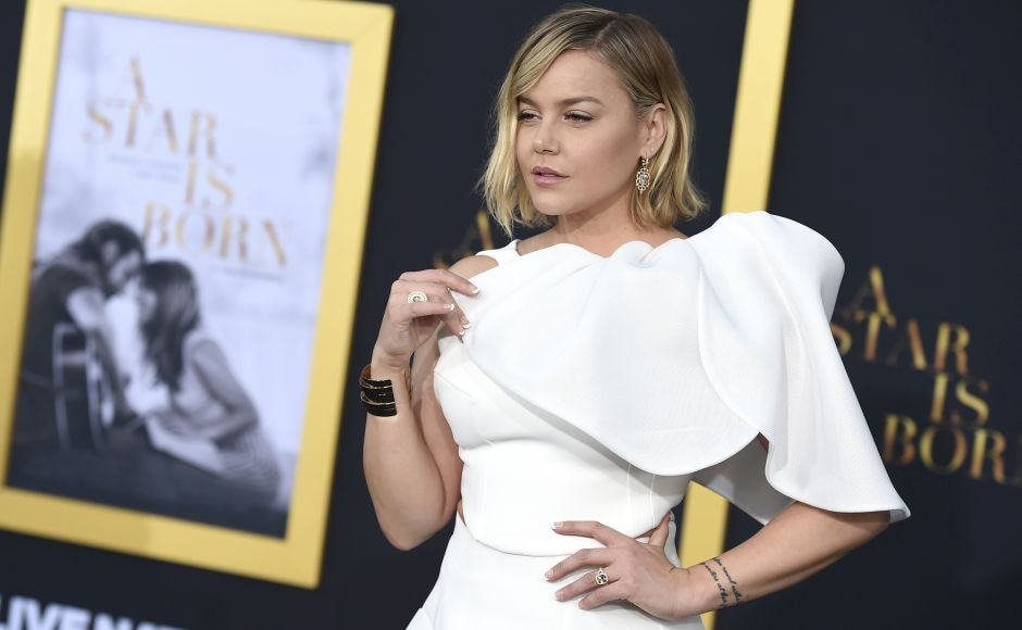 Abbie Cornish arrives at the Los Angeles premiere of A Star Is Born. Photo by Jordan Strauss/Invision/AP