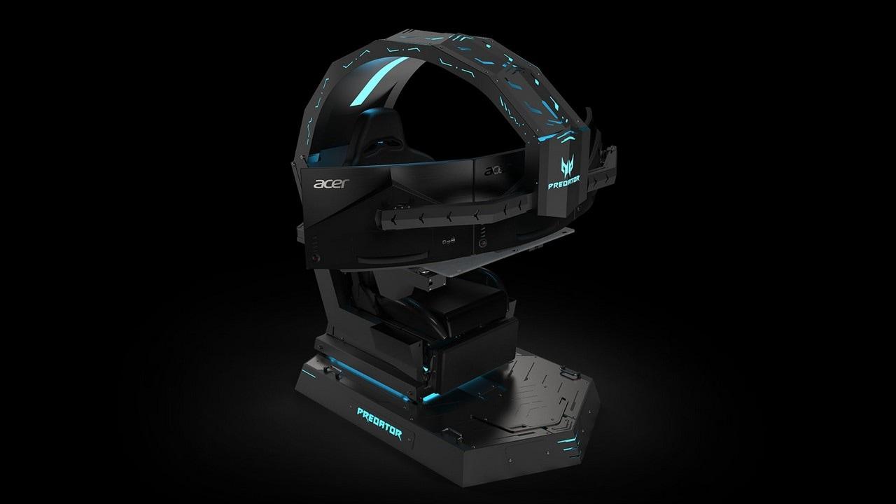 Acer Predator Thronos. Image:Acer