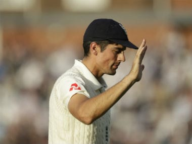 Alastair Cook scored 71 and 147 in his final Test appearance, which was against India at the Oval. AP