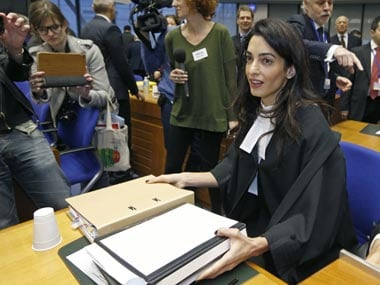 File image of Amal Clooney. Reuters