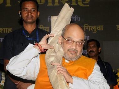 Madhya Pradesh Vidhan Sabha polls: Amit Shah holds roadshow in Indore, says Ram temple should be built in Ayodhya